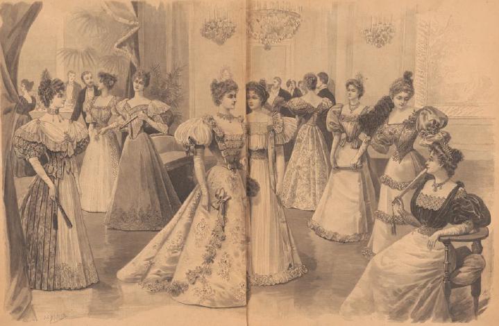 Báli szezon a 19. században